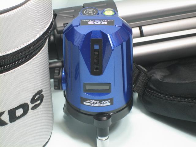 KDS レーザーレベル墨出器 ATL-100(たて・よこ) 本体・三脚セット 1年保証付