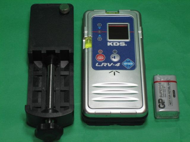 KDS 墨出器用受光器 防滴レーザーレベルレシーバー LRV-4
