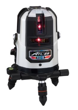 KDS 高輝度レーザー墨出器 ATL-66本体のみ 1年保証付
