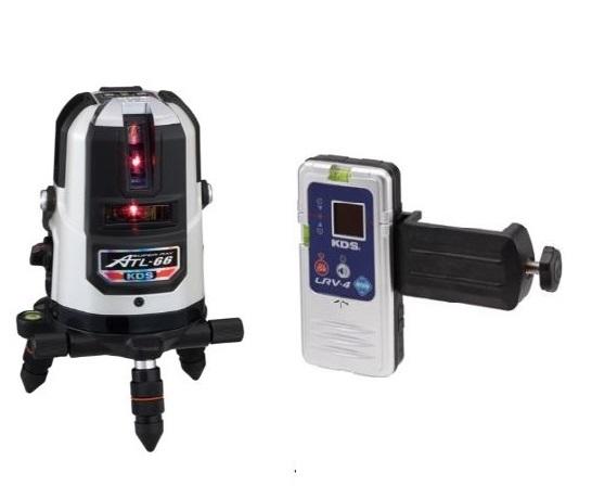 KDS 高輝度レーザー墨出器 ATL-66本体・受光器付 1年保証付