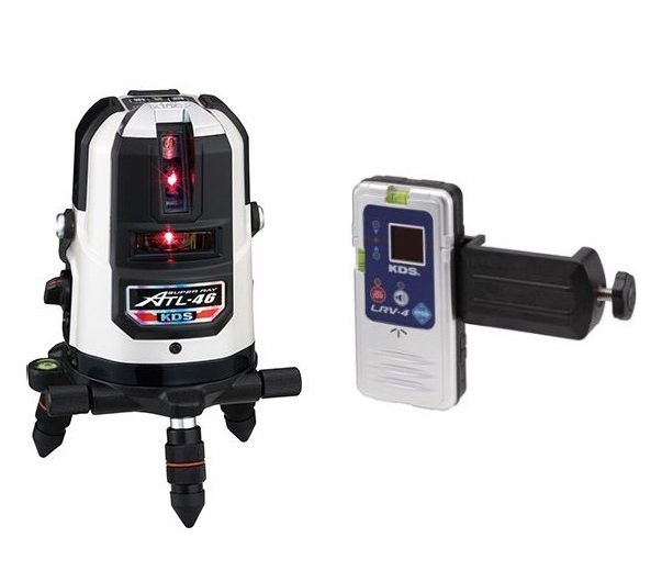 KDS 高輝度レーザー墨出器 ATL-46本体・受光器付 1年保証付