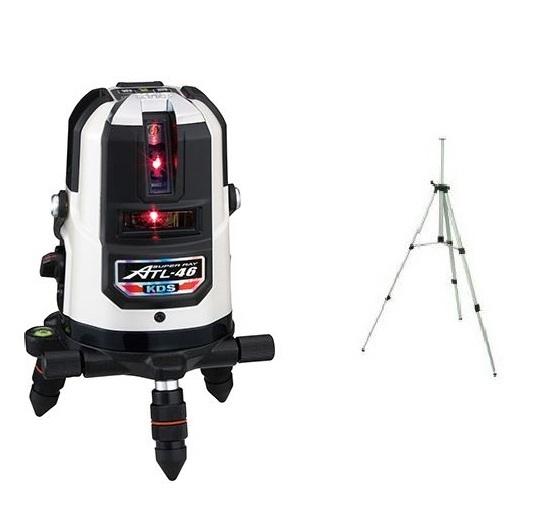 KDS 高輝度レーザー墨出器 ATL-46本体・三脚付 1年保証付