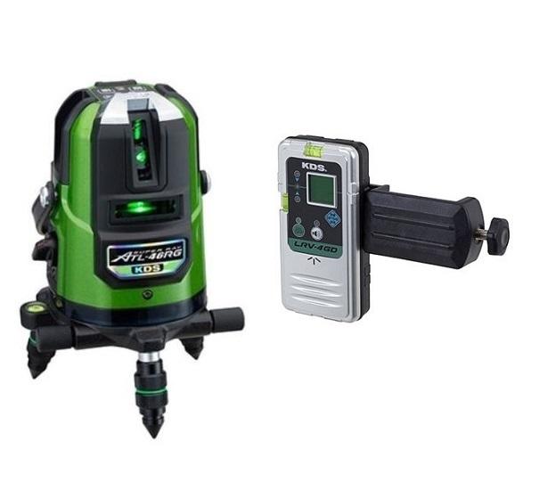 KDS リアルグリーンレーザー墨出器 ATL-46RG本体・受光器付 1年保証付
