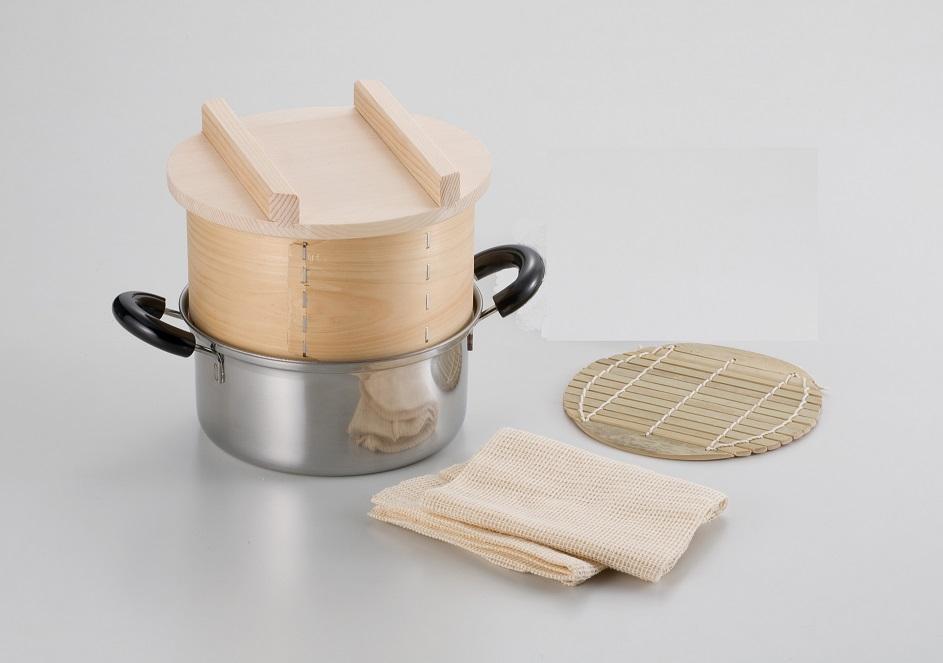 和せいろ 鍋付セット1升用 セイロ 和せいろ セット 蒸し器 蒸籠 鍋付き 餅つき