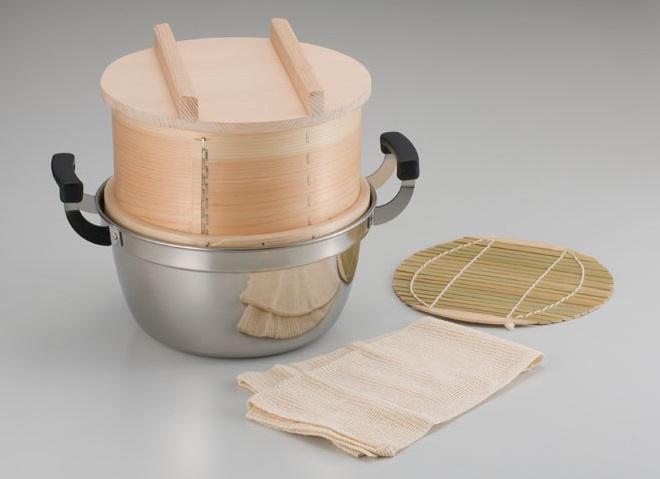 和せいろ セイロ 鍋付セット2升用 蒸し器 蒸籠 鍋付き セット
