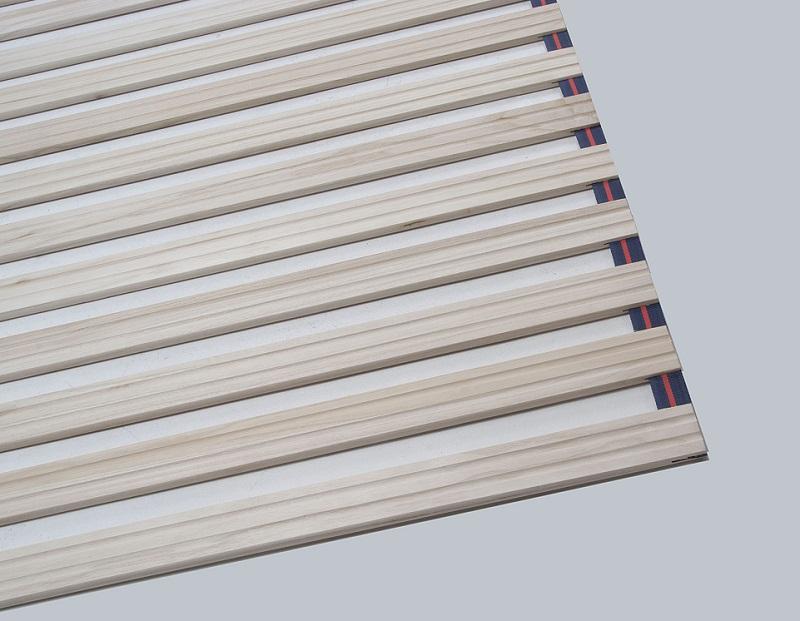 すのこ ベッド ダブル 桐製 すのこベッド すのこロールベッド ダブル140cm幅 ロール式 日本製【送料無料】巻けるロールタイプ