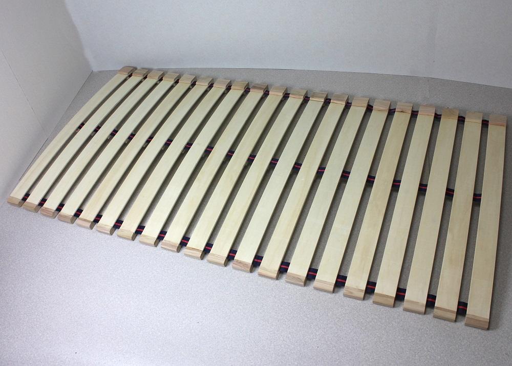 木製 すのこベッド シングル すのこロールベッド スプリングタイプ シングル100cm幅【送料無料】