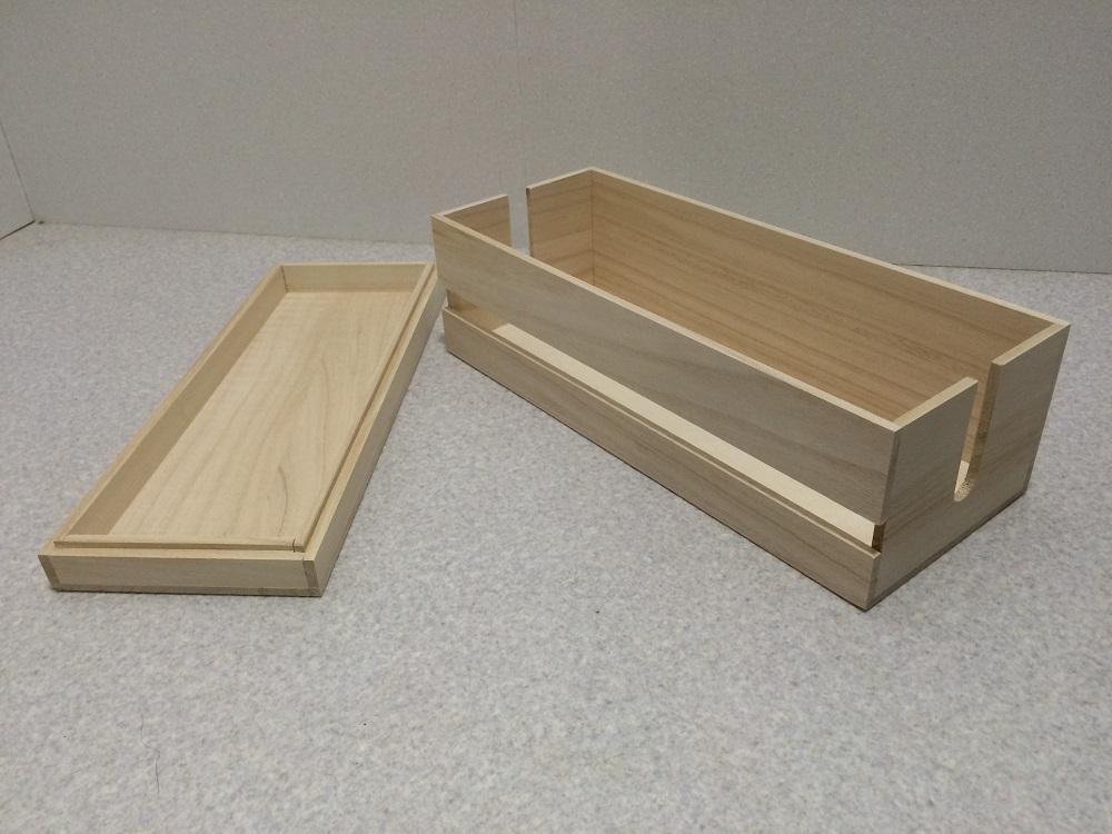 桐製のケーブルボックスです コードをスッキリ収納できます 永遠の定番 サイズ違いもあります ケーブルボックス 木製 新作多数 Lサイズ コード収納