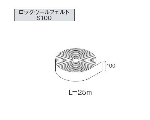 ★アイジー工業 SF-ガルブライト JF 【ロックウールフェルトS100】 付属品★