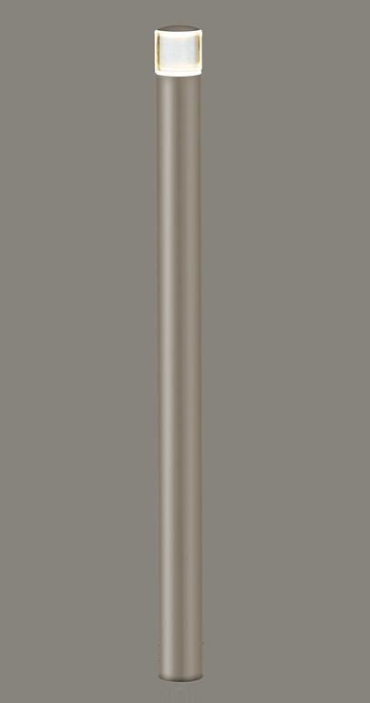 ★LIXIL 美彩 ローポールライト 丸形 下配光型 H700 12V シャイングレー/シャイングレー LED エクステリア照明★【送料無料】