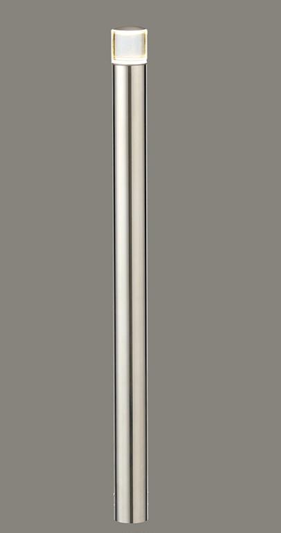 ★LIXIL 美彩 ローポールライト 丸形 下配光型 H700 12V シャイングレー/鏡面 LED エクステリア照明★【送料無料】