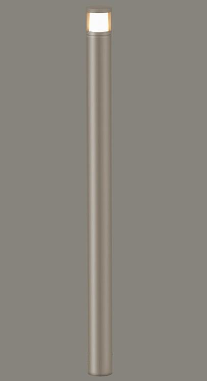 ★LIXIL 美彩 ローポールライト 丸形 拡散型 H700 12V シャイングレー/シャイングレー LED エクステリア照明★【送料無料】