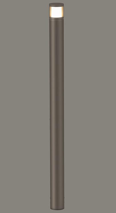 ★LIXIL 美彩 ローポールライト 丸形 拡散型 H700 12V オータムブラウン/オータムブラウン LED エクステリア照明★【送料無料】