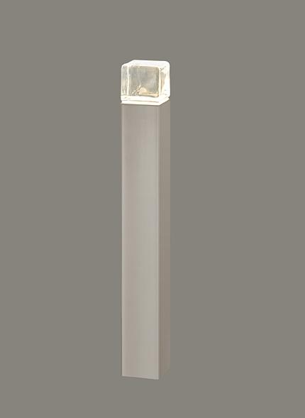 ★LIXIL 美彩 ローポールライト 角形 透過型 H400 12V シャイングレー/シャイングレー LED エクステリア照明★【送料無料】