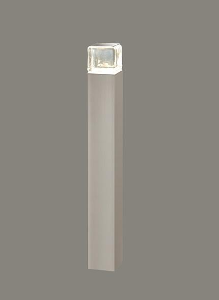 ★LIXIL 美彩 ローポールライト 角形 下配光型 H400 12V シャイングレー/シャイングレー LED エクステリア照明★【送料無料】