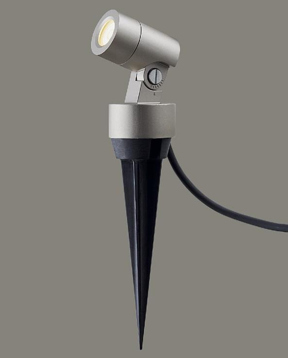 ★LIXIL 美彩 スパイクスポットライト SSP-G1型 45° シャイングレー 12V LED エクステリア照明★【送料無料】