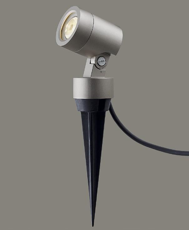 ★LIXIL 美彩 スパイクスポットライト SSP-G2型 45° シャイングレー 12V LED エクステリア照明★【送料無料】