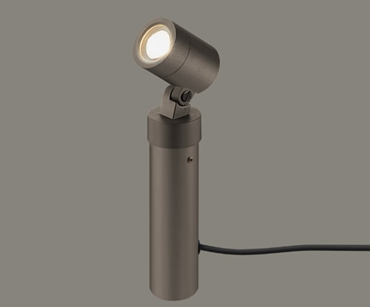 ★LIXIL 美彩 スタンドスポットライト H200 SSP-G3型 オータムブラウン 12V LED エクステリア照明★【送料無料】