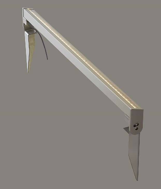 ★LIXIL 美彩 ウォールバーライト WB-L80型 シャイングレー 12V 壁面施工/据置施工 LED エクステリア照明★【送料無料】