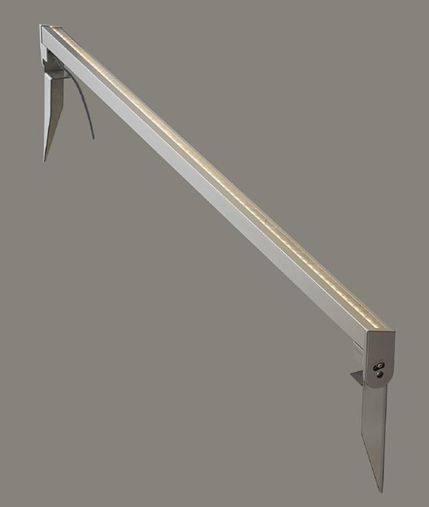 ★LIXIL 美彩 ウォールバーライト SWB-L120型 シャイングレー 12V スパイク施工 LED エクステリア照明★【送料無料】