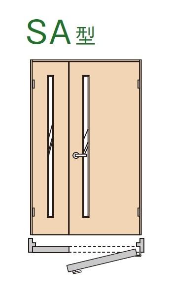 ★内装ドア 親子ドア SA型 【XMJE1SA◇N04R(L)74□ 】ベリティス パナソニック 室内ドア ★ 【送料無料】