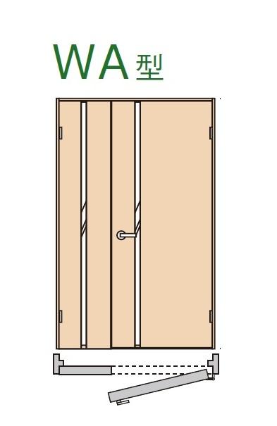 ★内装ドア 親子ドア WA型 【XMJE1WA◇N04R(L)74□ 】ベリティス パナソニック 室内ドア 受注生産品★ 【送料無料】