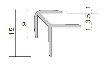 【お買得】 ★アイカ 20本入 ZK-120□C 出隅 施工部材 アルミジョイナー C形状 セラール ★:建材アウトレットRico-木材・建築資材・設備