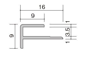 絶妙なデザイン 施工部材 20本入 ★:建材アウトレットRico アルミジョイナー スノーホワイト ZK-1208W セラール W形状 ★アイカ 出隅-木材・建築資材・設備