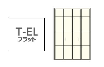 ★ウッドワン グランステージ T-ELフラット 内装 クローゼットドア 間口4.5尺 扉 収納建具★