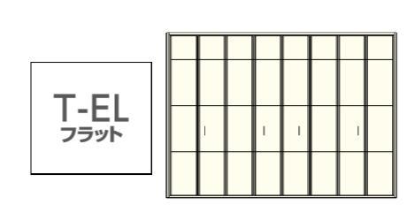 ★ウッドワン グランステージ T-ELフラット 内装 クローゼットドア 間口12尺 扉 収納建具★