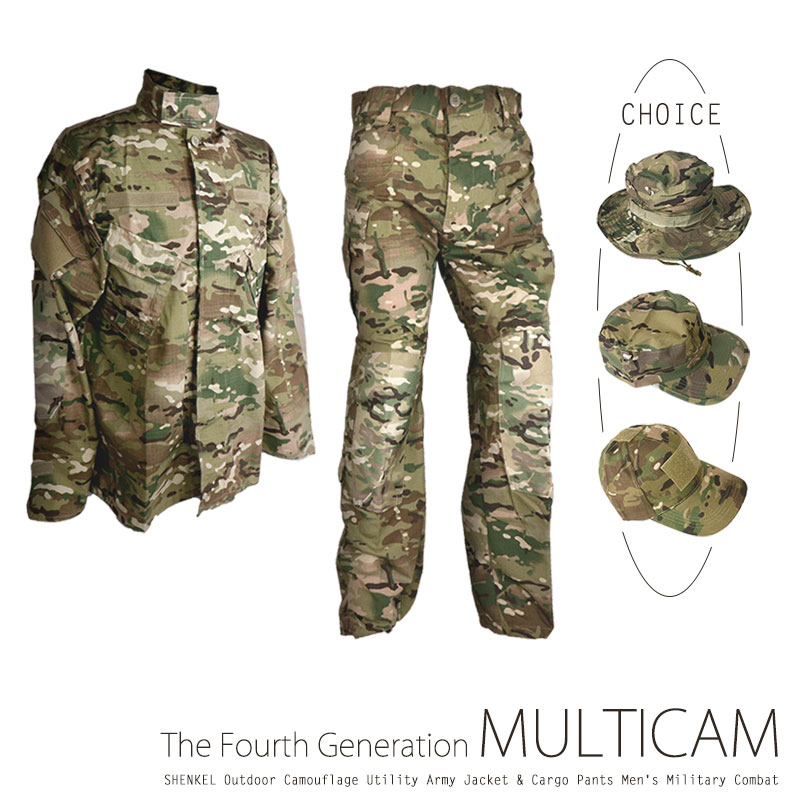 95d1e10bdf1d4 Size zxc which the SHENKEL camouflage clothes new model top and bottom hat  jacket underwear pants ...