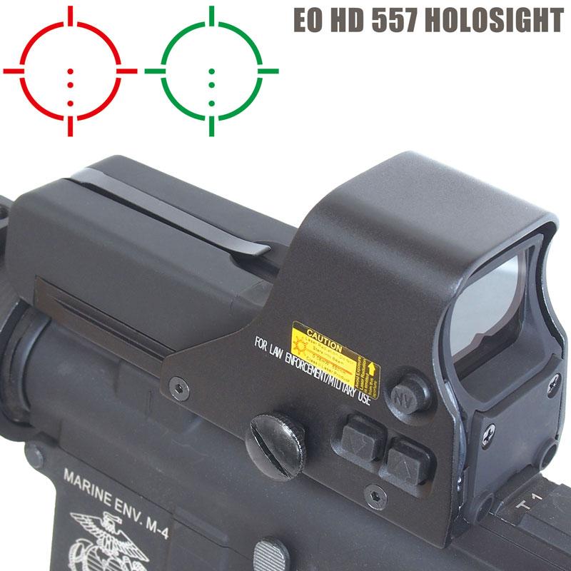 Eo HD 557 ホロサイト型 ダットサイト ドットサイト QDレバーカスタムパーツ付 ANS Optical サバイバルゲーム サバゲー エアガン スコープ