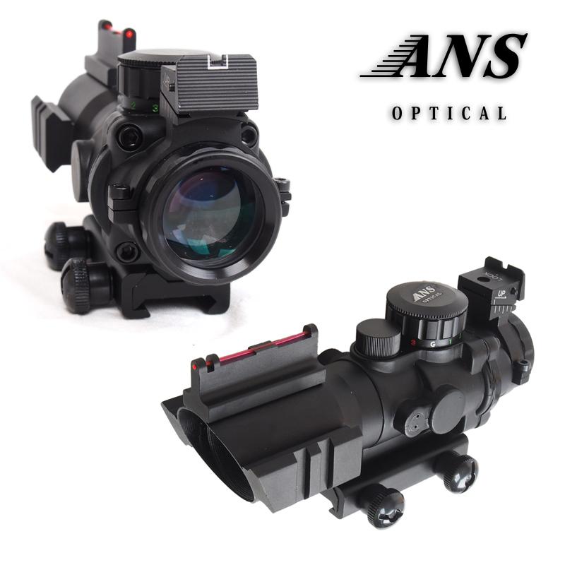 AIM-JTDFO432G 4x32 コンバットスコープ レプリカ ANS Optical サバイバルゲーム サバゲー ドットサイト ダットサイト タクティカルスコープ ライフルスコープ スコープ エアガン エアーガン