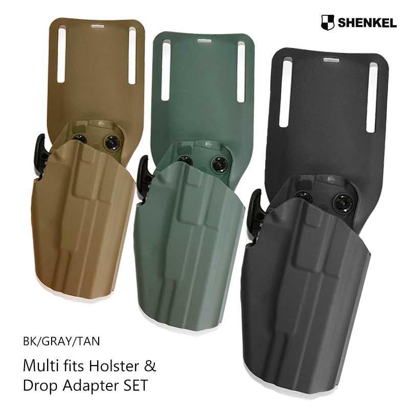 a126bb6a852adc OUTSIDER: SHENKEL safari land type holster standard & drop ...