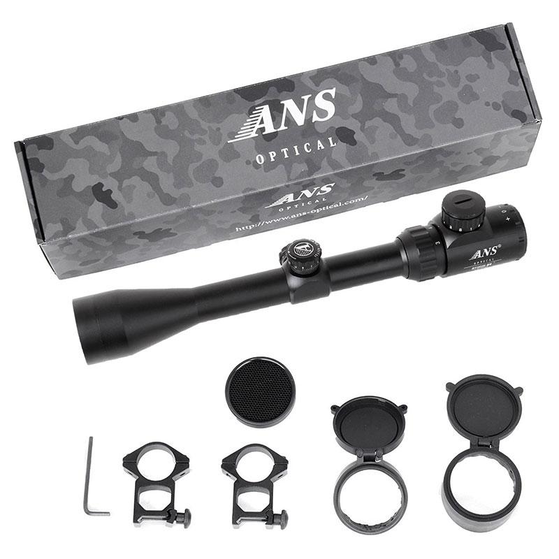ANS Optical 3-9 x40EGB 줌 라이플 스코프 풀 코팅 렌즈 고급 지향 모델적/록/청