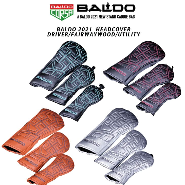 P10 2021年モデル BALDO 2021 別倉庫からの配送 商い HEADCOVER 1W 単品 FW BALDO21-HC-2 ウッド用 UT