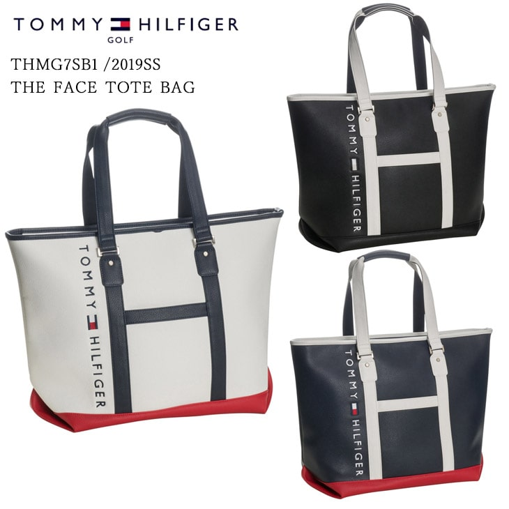 2019SS/TOMMY_HILFIGER/トミーヒルフィガー/THMG7SB1/THE_FACE_TOTE_BAG/トートバッグ【05P18Jun16】