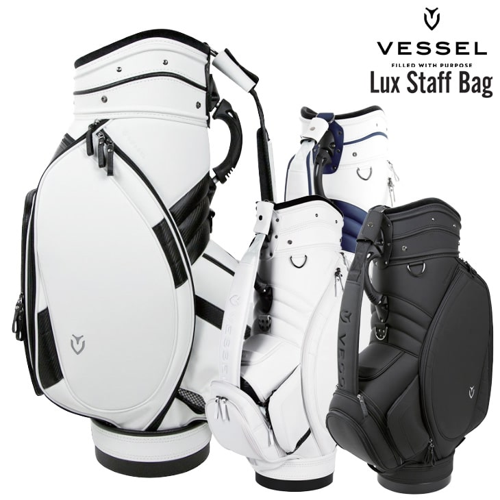 VESSEL/ベゼル/100965/ORIGINAL_STAFF/オリジナルスタッフキャディバッグ/9型/6分割【05P18Jun16】