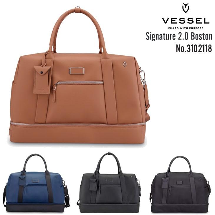 VESSEL/ベゼル/3102118/SIGNATURE_2.0_BOSTON_BAG/シグネチャー2.0ボストンバッグ【05P18Jun16】