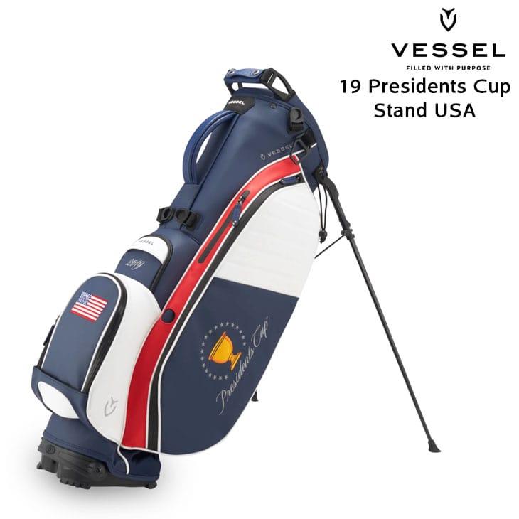 VESSEL/ベゼル/19_Presidents_Cup_Stand_USA/19プレジデントカップスタンドUSA/キャディバッグ/8.5型/6分割【05P18Jun16】