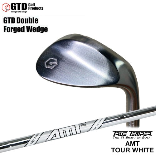 GTD_Double_Forged_Wedge/ダブルフォージドウェッジ/AMT_TOUR_WHITE/AMTツアーホワイト/TRUE_TEMPER/OVDカスタムクラブ/代引NG【05P26Mar16】