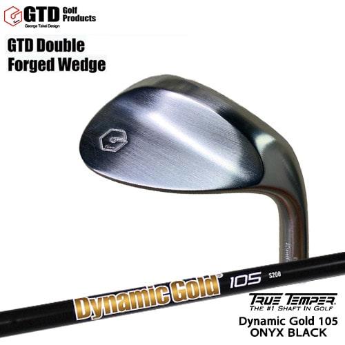 GTD_Double_Forged_Wedge/ダブルフォージドウェッジ/Dynamic_Gold_105_ONYX_BLACK/オニキスブラック/ダイナミックゴールド/TRUE_TEMPER/OVDカスタムクラブ【05P26Mar16】