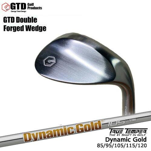 GTD_Double_Forged_Wedge/ダブルフォージドウェッジ/Dynamic_Gold_95/105/115/120/ダイナミックゴールド/TRUE_TEMPER/OVDカスタムクラブ【05P26Mar16】