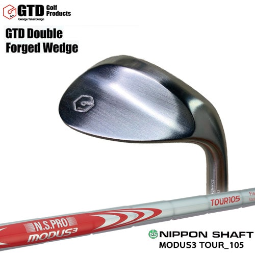 GTD_Double_Forged_Wedge/ダブルフォージドウェッジ/N.S.PRO_MODUS3_TOUR_105/日本シャフト/OVDカスタムクラブ/代引NG【05P26Mar16】