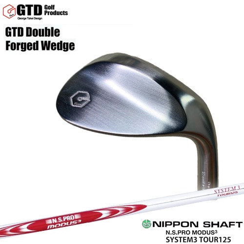 GTD_Double_Forged_Wedge/ダブルフォージドウェッジ/N.S.PRO_MODUS3_SYSTEM3_TOUR125/日本シャフト/OVDカスタムクラブ/代引NG【05P26Mar16】