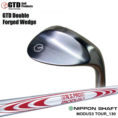 GTD_Double_Forged_Wedge/ダブルフォージドウェッジ/N.S.PRO_MODUS3_TOUR_130/日本シャフト/OVDカスタムクラブ/代引NG【05P26Mar16】