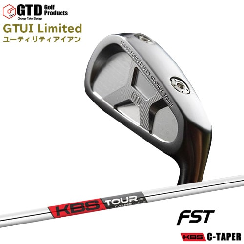GTD_GTUI_Limited/UTILITY_iron/ユーティリティアイアン/KBS_C-TAPER/FST/OVDカスタムクラブ/代引NG【05P18Jun16】