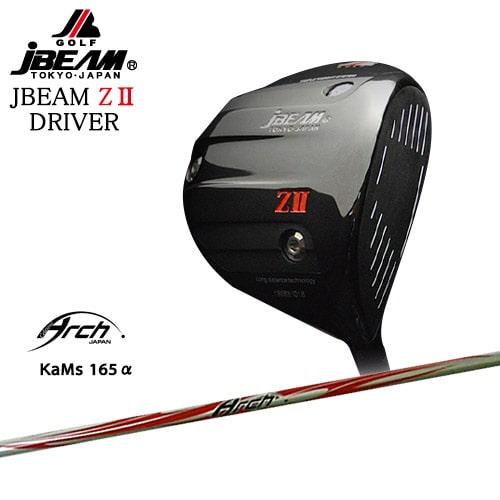 JBEAM_ZII_DRIVER/ジェイビーム/165α/ARCH_GOLF/アーチゴルフジャパン/OVDカスタムクラブ【05P26Mar16】