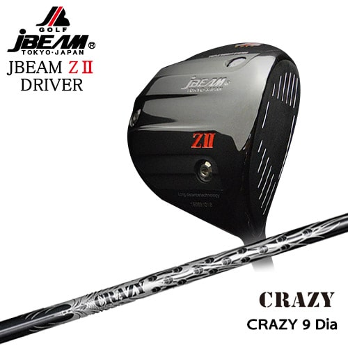 JBEAM_ZII_DRIVER/ジェイビーム/CRAZY_9_Dia/CRAZY/クレイジー/OVDカスタムクラブ【05P26Mar16】