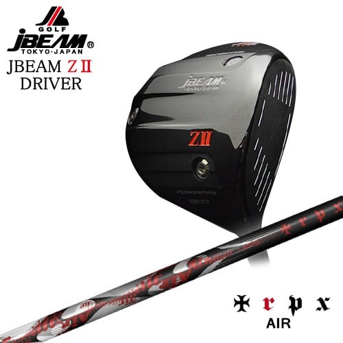 JBEAM_ZII_DRIVER/ジェイビーム/AIR/エアー/TRPX/トリプルエックス/OVDカスタムクラブ【05P26Mar16】